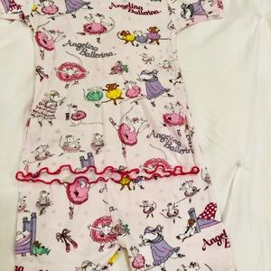 Other - Girls Angelina Ballerina Pajamas Size 5